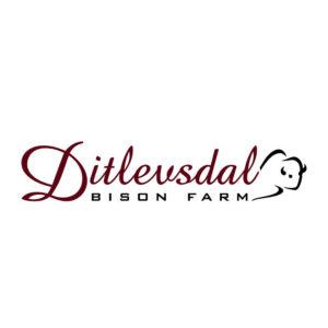 Logodesign Ditlevsdal Bison Farm