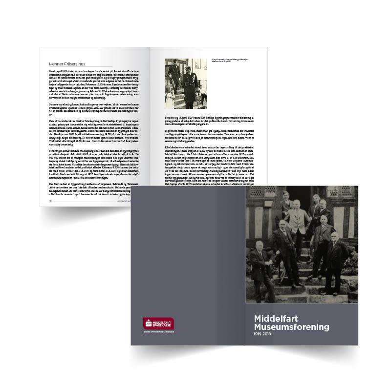 Middelfart Museumsforening bog