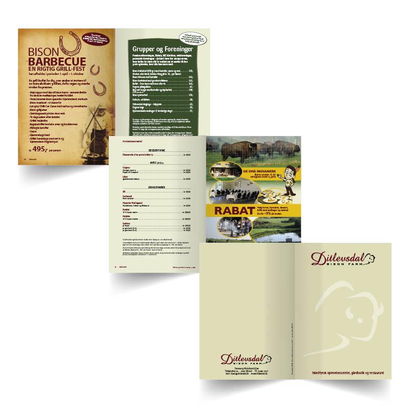 Design og rentegning af Brochure