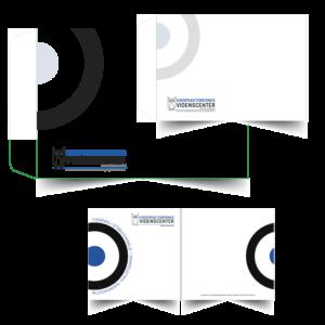 Design og rentegning af kuverter og kort