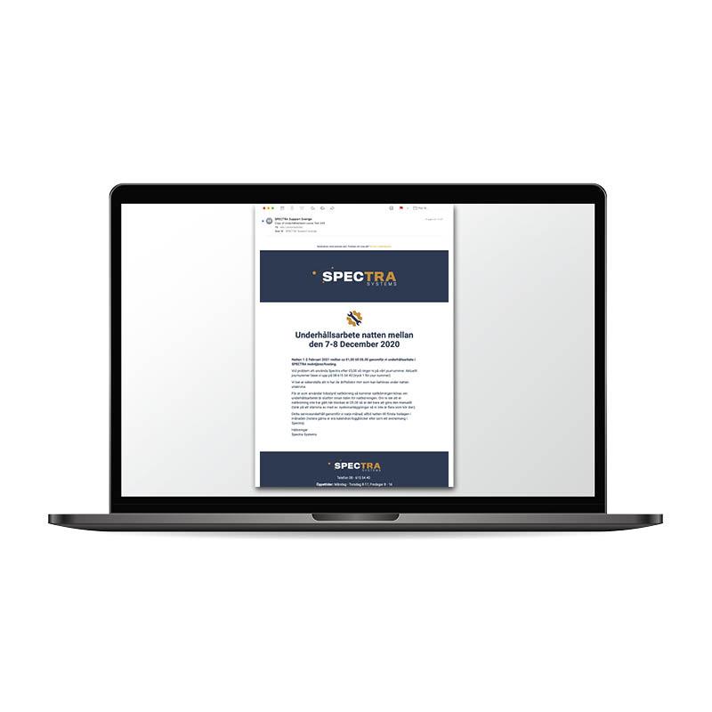 Newsletter design vedligeholdelse